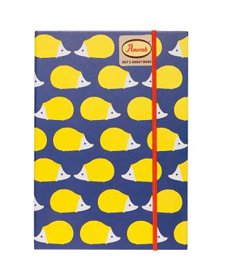 Anorak Hedgehogs Notebook Cover Image
