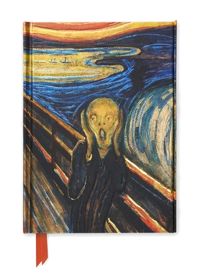Edvard Munch: The Scream (Foiled Journal) (Flame Tree Notebooks #63) Cover Image