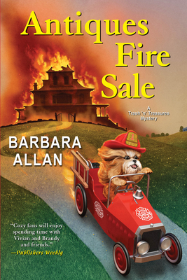 Cover for Antiques Fire Sale (A Trash 'n' Treasures Mystery #14)