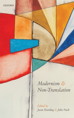 Modernism and Non-Translation Cover Image