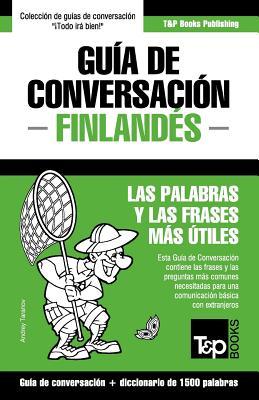 Guía de Conversación Español-Finlandés y diccionario conciso de 1500 palabras Cover Image