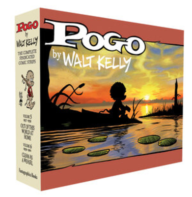 Pogo: The Complete Syndicated Comic Strips Vols. 5 & 6 Boxed Set (Walt Kelly's Pogo) Cover Image