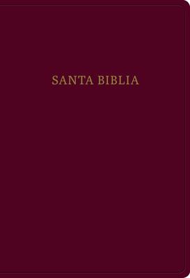 Cover for RVR 1960 Biblia letra súper gigante, borgoña imitación piel con índice