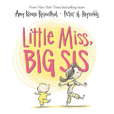 Little Miss, Big Sis Board Book Cover Image