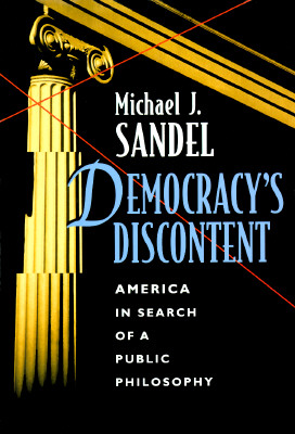 Democracy's Discontent Cover