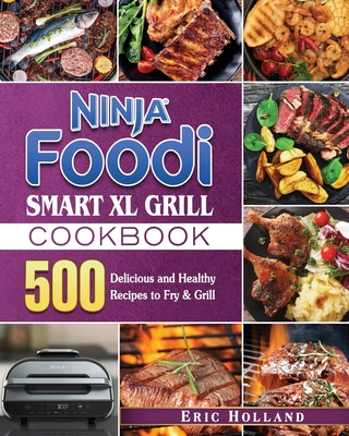 Ninja Foodi Smart XL Grill Cookbook Cover Image