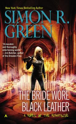 Cover for The Bride Wore Black Leather (A Nightside Book #12)