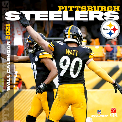 Pittsburgh Steelers 2021 12x12 Team Wall Calendar Cover Image