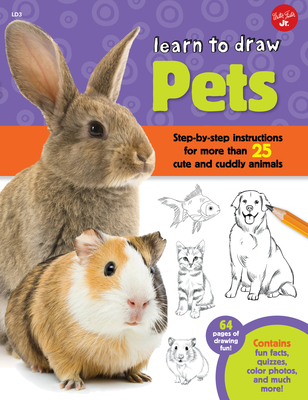 Learn to Draw Pets Cover