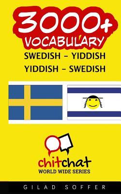 3000+ Swedish - Yiddish Yiddish - Swedish Vocabulary Cover Image