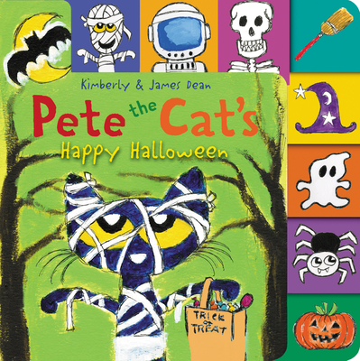Pete the Cat's Happy Halloween Cover Image