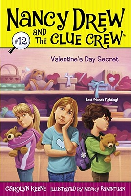Valentine's Day Secret (Nancy Drew and the Clue Crew #12) Cover Image