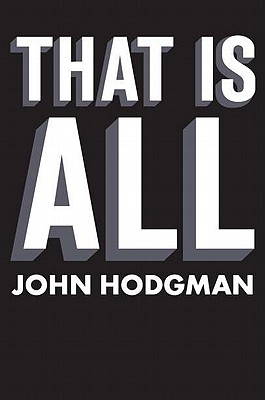 That Is All Cover