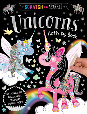 Scratch and Sparkle Unicorns Activity Book Cover Image