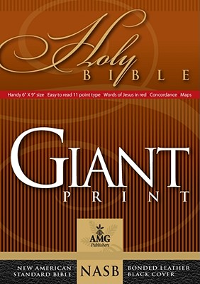 Giant Print Handy-Size Bible-NASB Cover Image