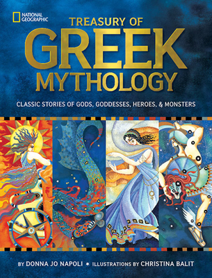 Treasury of Greek Mythology Cover