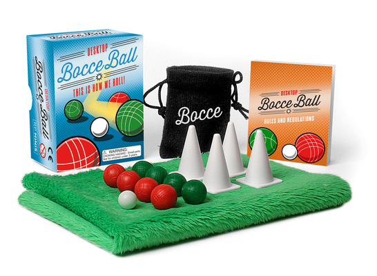 Desktop Bocce Ball: This Is How We Roll! (RP Minis) Cover Image