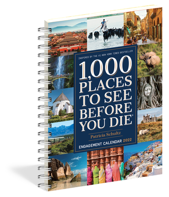 1,000 Places to See Before You Die Engagement Calendar 2022 Cover Image