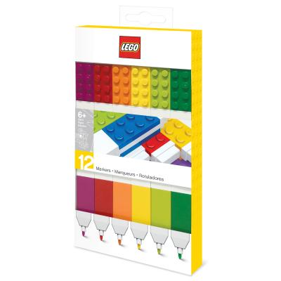 Lego 12 Pack Markers Cover Image