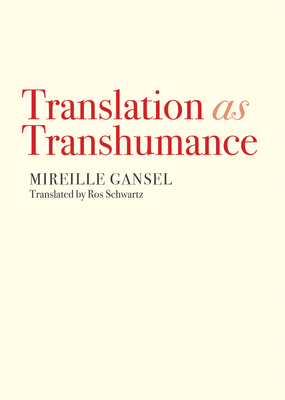 Cover of Translation as Transhumance