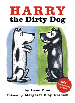 Harry the Dirty Dog Board Book Cover Image