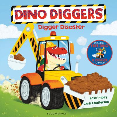 Digger Disaster (Dino Diggers) Cover Image