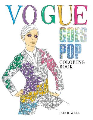 Vogue Goes Pop: Coloring Book Cover Image