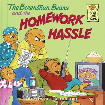 The Berenstain Bears and the Homework Hassle Cover Image