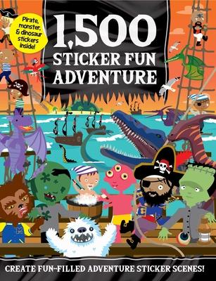 1,500 Sticker Fun Adventure Cover Image