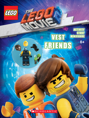 Vest Friends (The LEGO MOVIE 2: Activity Book with Minifigure) Cover Image