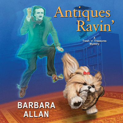 Cover for Antiques Ravin' (Trash 'n' Treasures Mystery #13)