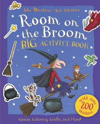 Room on the Broom Big Activity Book Cover Image