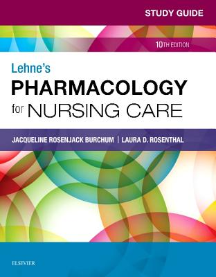 Study Guide for Lehne's Pharmacology for Nursing Care Cover Image