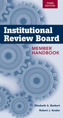 Institutional Review Board Member Handbook Cover Image