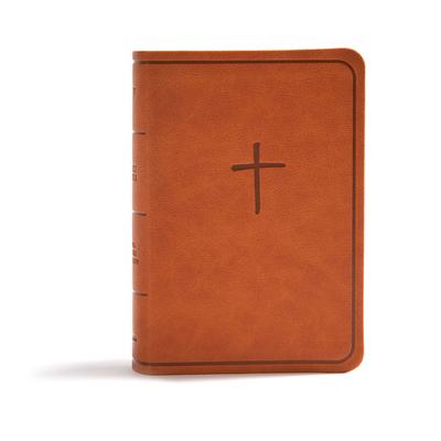 Cover for KJV On-the-Go Bible, Ginger LeatherTouch