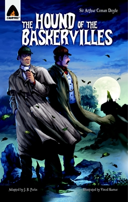 The Hound of the Baskervilles: The Graphic Novel (Campfire Graphic Novels) Cover Image