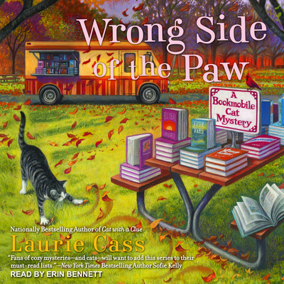 Wrong Side of the Paw (Bookmobile Cat Mystery #6) Cover Image