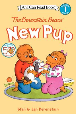 The Berenstain Bears' New Pup [With Stickers] Cover Image