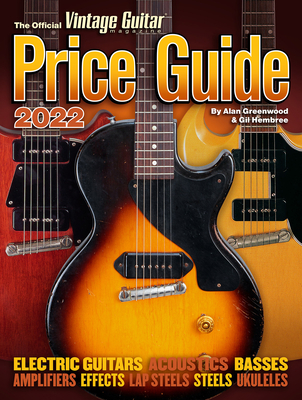 The Official Vintage Guitar Magazine Price Guide 2022 Cover Image