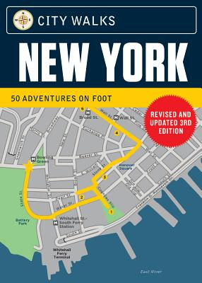 City Walks Deck: New York (Revised): (City Walking Guide, Walking Tours of Cities) Cover Image