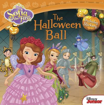 Sofia the First The Halloween Ball: Includes Stickers Cover Image