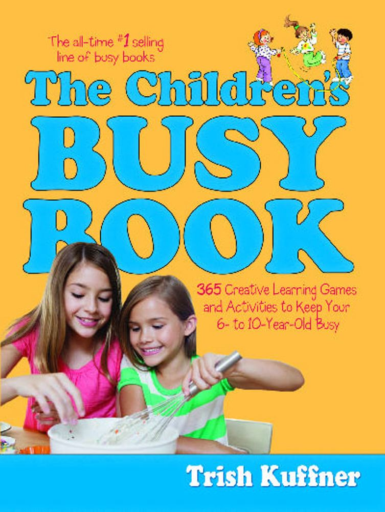 Children's Busy Book (Retired Edition) Cover Image