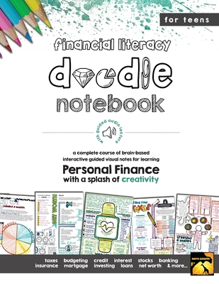 Personal Finance Doodle Notes: Brain Based Interactive Guided Notes Cover Image