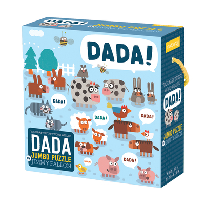 Jimmy Fallon Your Baby's First Word Will Be Dada Jumbo Puzzle Cover Image