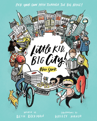 Cover for Little Kid, Big City!