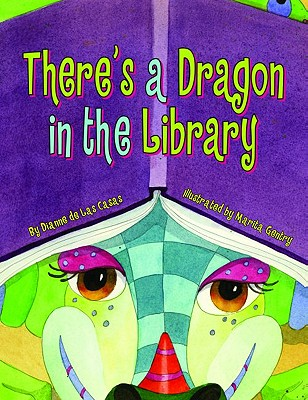There's a Dragon in the Library Cover