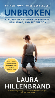 Unbroken (Movie Tie-in Edition): A World War II Story of Survival, Resilience, and Redemption Cover Image