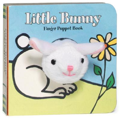 Little Bunny: Finger Puppet Book: (Finger Puppet Book for Toddlers and Babies, Baby Books for First Year, Animal Finger Puppets) (Little Finger Puppet Board Books) Cover Image