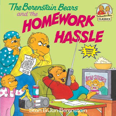 The Berenstain Bears and the Homework Hassle Cover