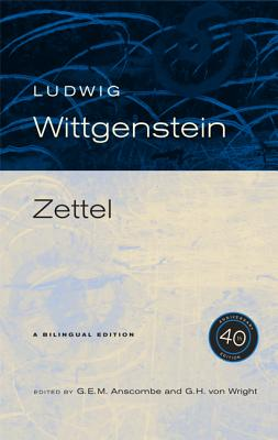 Cover for Zettel, 40th Anniversary Edition